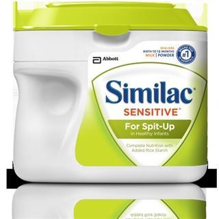 (美国直邮) 雅培低敏感原 防吐奶粉for Spit-up 658g克*2罐包邮
