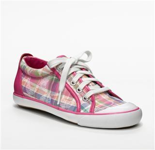 coach帆布女鞋