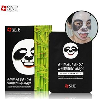 snp动物熊猫美白保湿面膜