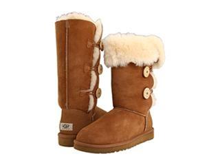 【美国直邮包邮】正品ugg雪地靴Bailey Button Triplet 高筒女靴