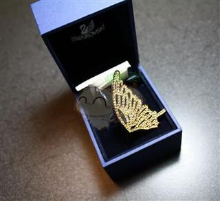 【情人节活动】Swarovski 施华洛世奇 蝴蝶款戒指