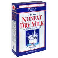 全脱脂奶粉儿童孕妇成人American's Choice NonFat Dry Milk1816g