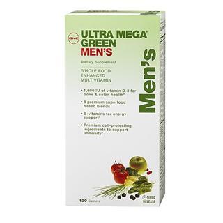 美国正品代购GNC 超级男性绿源综合维生素120片完美配方任意三件包运