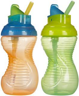 Munchkin麦肯易握吸管杯不含 BPA 10OZ