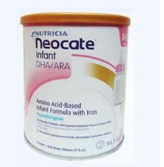 Neocate纽康特1段抗过敏湿疹防腹泻深度水解蛋白氨基酸奶粉