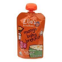 英国Ella's Kitchen艾拉厨房 芒果果泥 6m+ 100g 英国直邮