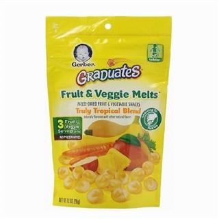 【美国直邮】Gerber嘉宝 水果酸奶溶豆28g  多种口味
