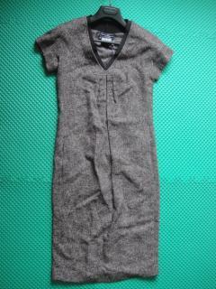 SALVATORE FERRAGAMO 羊毛混纺连衣裙 13 A391/0416548
