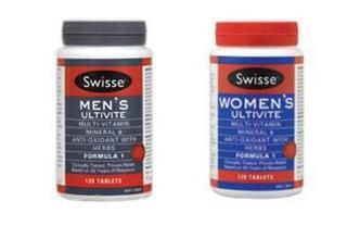 澳洲直邮 Swisse男女复合维生素120粒草本精华 包邮