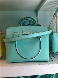Kate Spade 波士顿 奶黄包/tiffany blue蓝绿色