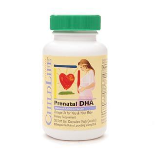 ChildLife童年时光 孕妇专用DHA30粒 柠檬味(3件起拍)