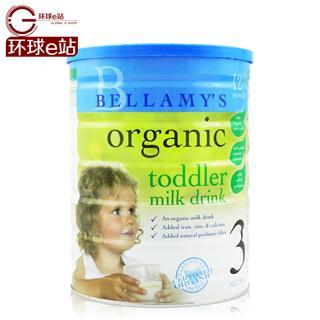 澳洲直邮正品 Bellamy's贝拉米3段 澳大利亚有机婴儿牛奶粉1~3岁