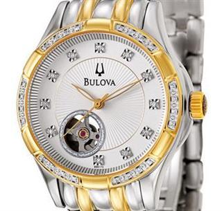 Bulova宝路华 BVA系列自动机械女表 型号 98R173