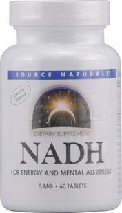 免运费包美国直邮线粒体素NADH还原型辅酶5mg 60片帕金森/老年痴呆