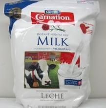 雀巢Carnation 美国进口直邮三花脱脂淡奶粉 1.99kg