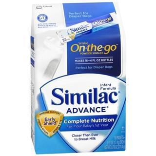 美国 Similac 雅培一段奶粉/便携装1段 278g●16条 (2盒)包邮