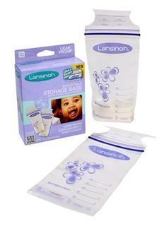 包美国直邮 Lansinoh母乳储存袋/储奶袋/保鲜袋 50片装