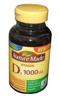 免运费!包美国直邮Nature Made D3补充维他命D3 1000IU 560粒
