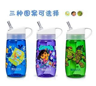 美国原装进口Brita碧然德直饮儿童滤水杯净水瓶15oz