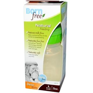 美国BornFree ECO环保生态奶瓶PPUS材质 5oz/160ml 不含BPA-拆