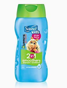 包美国直邮!Suave kids丝华芙儿童护发素洗发水2合1无泪355ml