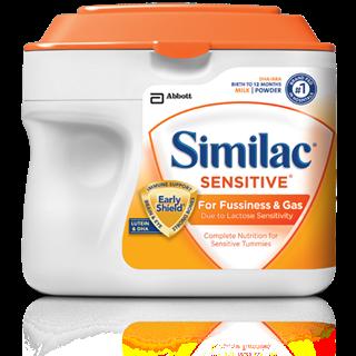 美国直邮 Similac雅培一段金盾/1段防胀气奶粉 658g