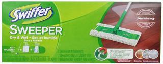【代购直邮】Swiffer 2合1 轻巧干湿两用地板瓷砖吸尘拖把