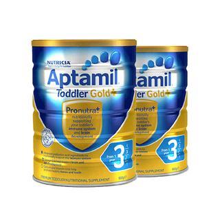#洋码头818大促#奶粉破冰价397元APTAMIL新西兰爱他美3段奶粉2罐