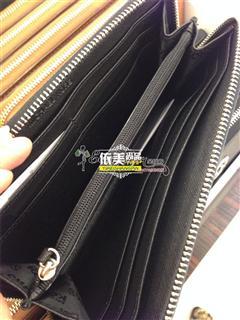 依美尚品 Michael Kors 十字纹全皮长款拉链钱包 直邮包税 128