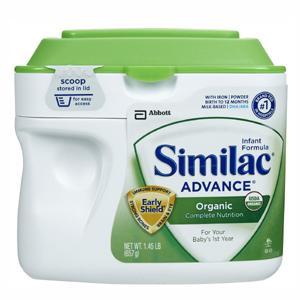 美国 Similac雅培 一段有机婴儿奶粉 657克 3罐包邮