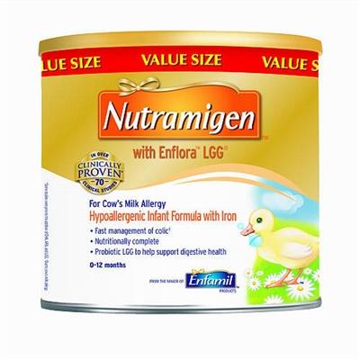 Enfamil美赞臣一段抗过敏深度水解蛋白奶粉561克(4罐包邮)