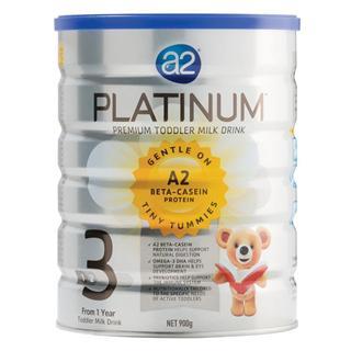 a2白金高端三段婴儿奶粉(beta casein 酪蛋白新技术)900克