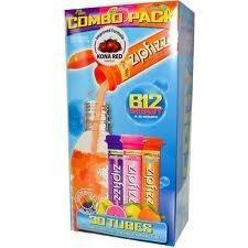 包美国直邮! Zipfizz 机能水功能饮料冲剂组合包30管