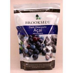 免运费!包美国直邮!Brookside 蓝莓夹心黑巧克力  907克