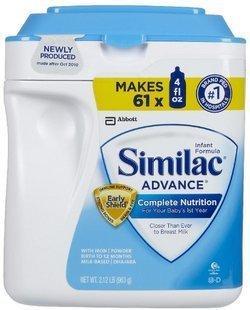 免运费!包美国直邮Similac雅培金盾一段/1段奶粉964g克 0-12个月