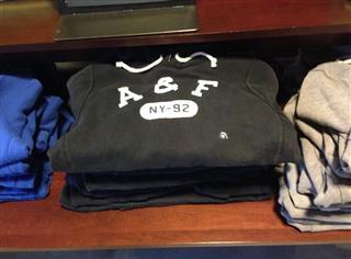 代购 美国直邮 AF 男士套头卫衣,亮色有活力
