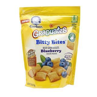 Gerber嘉宝混和谷物水果夹心小饼干 71克  2种口味