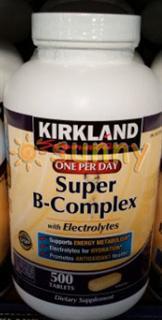 免运费包美国直邮Kirkland Super B 超级复合维
