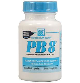 免运费!包美国直邮Nutrition Now益生菌140亿PB8针对妇科炎症120粒