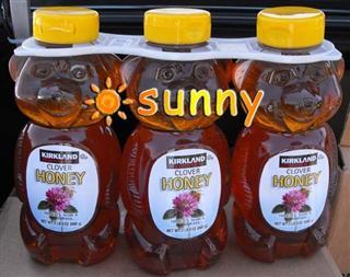 3瓶起拍!包美国直邮Kirkland/可兰纯美国产A级红花苜蓿蜂蜜 680g