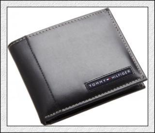 美国直邮 正品Tommy Hilfiger 男士两折钱包/钱夹/皮夹 双色可选A