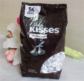美国 Hershey's kisses 好时 香浓牛奶巧克力 特惠包 1580g
