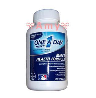 包美国直邮!Bayer ONE A DAY 拜耳男士复合维生素250粒