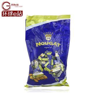 澳洲特产 高端进口 Golden Boronia金宝乐牛轧糖杏仁原味软糖 1kg