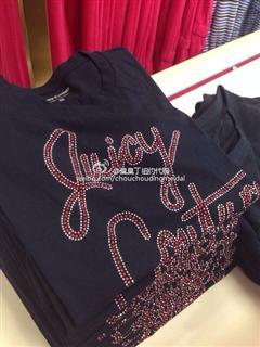 Juicy Couture短袖T恤7款,更多见描述(拍下备注颜色具体)