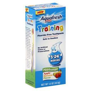 Aquafresh幼儿练习用无氟可吞咽牙膏 42.5g