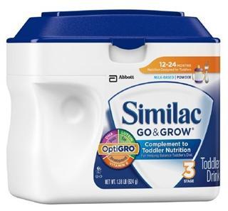【两罐包邮价】Similac 雅培 3段金盾婴儿奶粉 624g