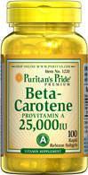 美国直邮Puritan'sβ-胡萝卜素护眼佳品 适合成年