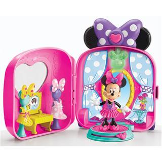 美国直邮 费雪Disney's Minnie's米妮及玩偶装扮铺主题拉杆箱