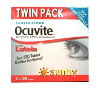 免运费!包美国直邮博士伦OCUVITE叶黄素眼睛营养保健精华 240粒